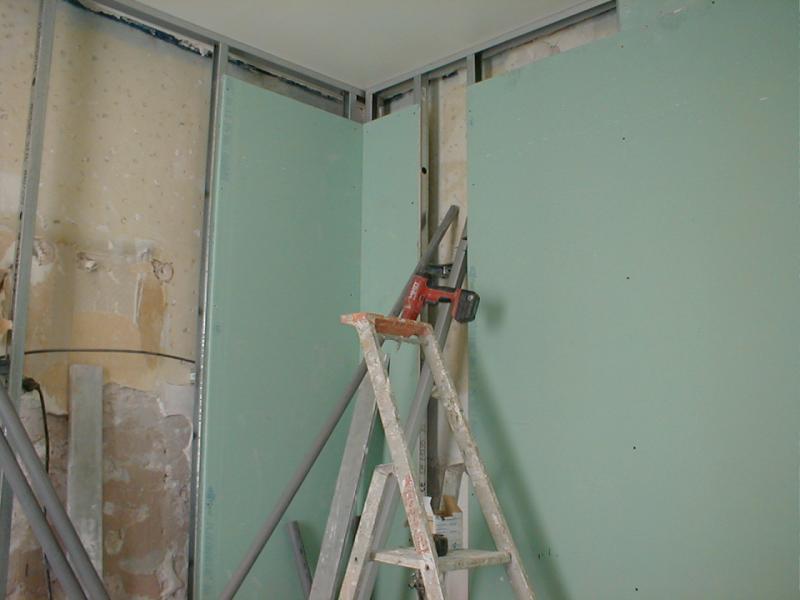 Salle de bain en cours de renovation marseille aix en - Renovation salle de bain marseille ...