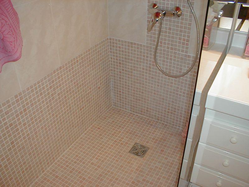 Sp cialiste douche italienne cassis en r novation - Renovation salle de bain marseille ...